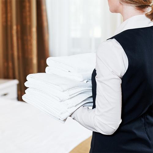 Wäscheservice für Hotels